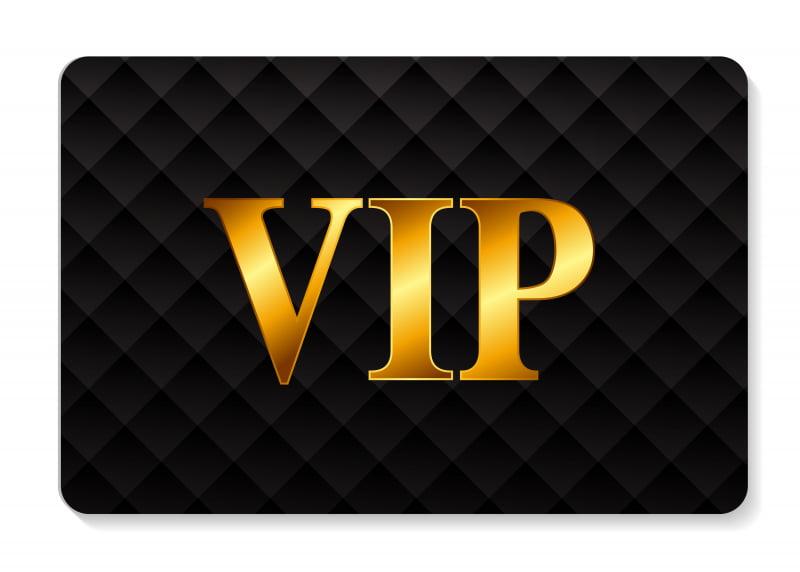 VIP in einem Casino