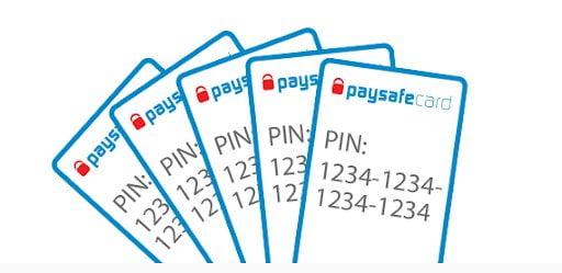 Paysafecard codes